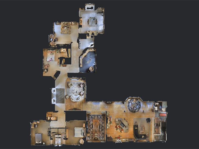 Elite Media Virtual Tours Floorplan View