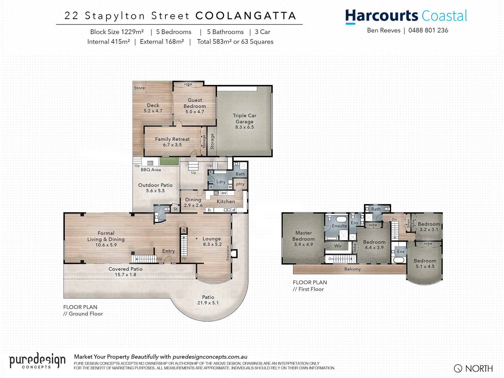 Example Floor Plan Only For Real Estate Elite Media Diagram Showing An Of A