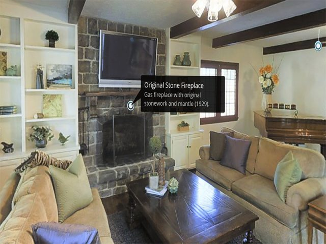 3d virtual tours for real estate mattertag example